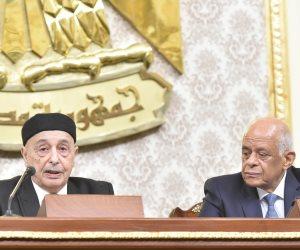 من القاهرة... رئيس مجلس النواب الليبي يبحث عن حل للأزمة الليبية
