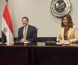 وزيرة الهجرة ورئيس هيئة الاستثمار يفتتحان «وحدة رعاية المستثمرين المصريين المقيمين بالخارج»