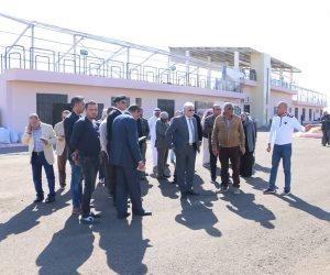 محافظ جنوب سيناء يتابع استعدادات إقامة مهرجان الهجن التراثي الدولي بشرم الشيخ(صور)