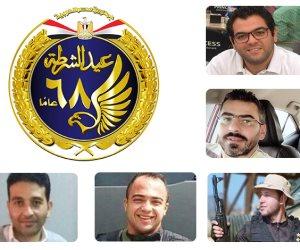 في احتفالات الشرطة لن ننساهم.. رحم الله رامي هلال و عمرو القاضي و عبيد ورفاقهم (صور)