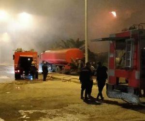 """""""لا داع من تصديق السوشيال"""".. حريق منطقة التبة بمدينة نصر """"محدود"""""""