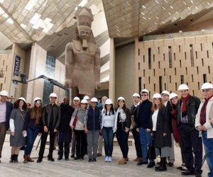 وزيرة التعاون الدولي تصطحب وفد المديرين التنفيذيين للبنك الدولي في جولة سياحية (صور)