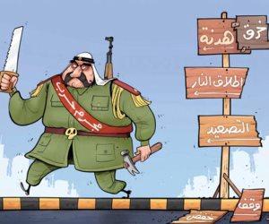 «ردت في صدره قتلته».. الشرق القطرية تضع صورة حاكم الدوحة السابق على أنه «مجرم حرب»