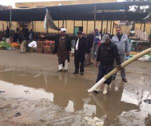 الأمطار تعم شمال سيناء.. ورفع الطوارئ لمواجهة الظروف الجوية