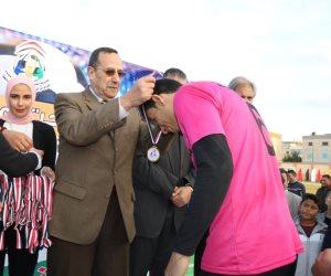 محافظ شمال سيناء يشهد نهائي دوري مراكز الشباب بالعريش (صور)