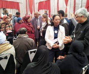 صور..وفد البنك الدولي يزور مشروع الحماية الاجتماعية «تكافل وكرامة» في أسوان
