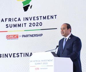 لقاءات وإنجازات..هذه قائمة الاستثمارات البريطانية في إفريقيا برعاية السيسى