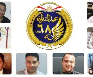 قبل ساعات من تكريمهم في احتفالات الشرطة.. رسائل مؤثرة لأسر شهداء الداخلية (صور)