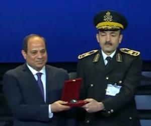 أسماء الضباط المتميزين المكرمين من الرئيس السيسي في احتفالات الشرطة