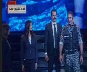 باشا مصر.. أمير كرارة يحكي قصة الشهيد وائل طاحون أمام الرئيس