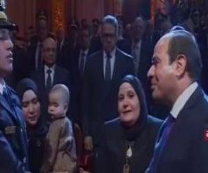 """رسالة صقور الداخلية للرئيس السيسى: """"اللى هيقرب من مصر هنشيله من على وش الأرض"""""""