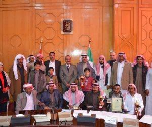 محافظ الإسماعيلية يكرم الفائزين بالمراكز الأولى في مهرجان شرم الشيخ التراثي للهجن