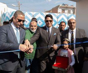 محافظ الفيوم و«أبو هشيمة» يفتتحان قرية خليفة يونس ضمن مبادرة إعادة إعمار القرى الأكثر احتياجا