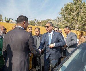 محافظ الفيوم يشكر «أبو هشيمة» لتطوير قرية خليفة: نموذج متكامل للتعاون من أجل مصلحة المواطن