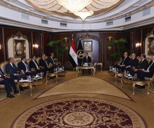 قدموا التهنئة في عيد الشرطة.. وزير الداخلية يستقبل رئيس نادي القضاة