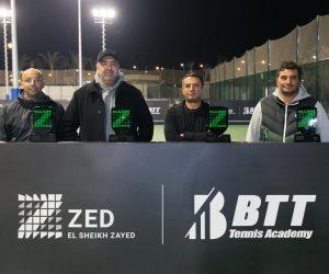 """انطلاق أكاديمية """"برشلونة توتال""""العالمية لاستكشاف وتدريب مواهب التنس بمجمع ZED الرياضي"""
