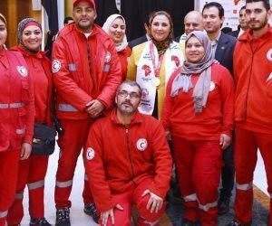 «القباج» تشكر متطوعي الهلال الأحمر على مجهوداتهم في الأولمبياد الخاص الإفريقي