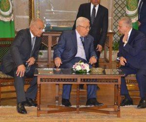 أبو الغيط: نسعى لبلورة موقف عربى تجاه الخطة الأمريكية للسلام