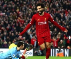 محمد صلاح يحرز هدف ليفربول الأول ضد لايبزيج بالدقيقة 53