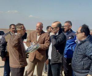 """بدء أعمال تطوير موقع """"الفرما"""" ضمن المشروع القومي لإحياء مسار العائلة المقدسة بشمال سيناء"""
