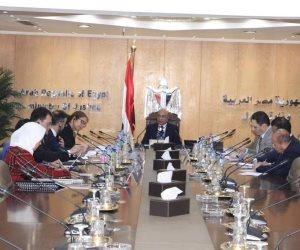 وزير العدل يلتقى ممثلى مجموعة البنك الدولى لبحث أوجه التعاون المشترك
