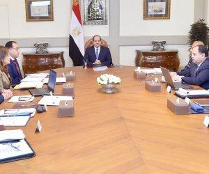 الرئيس السيسى يعقد اجتماعا لمتابعة استراتيجية الدولة لتطوير صناعة الغزل والنسيج