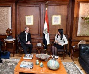 وزيرة التعاون الدولى: نثمن العلاقات التاريخية بين مصر وسويسرا.. ونصيغ استراتيجية التعاون