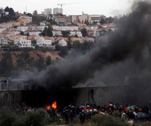 مواجهات بين الفلسطينيين وقوات الاحتلال في أريحا تسفر عن إصابات واختناقات