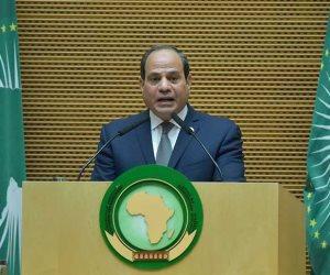 عام زاخر بالعطاء والنجاحات.. مسيرة السيسى في رئاسة الاتحاد الإفريقي (فيديو)