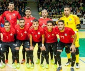 الشوط الأول.. المغرب يتفوق بثلاثية نظيفة علي مصر بنهائى كأس أفريقيا لكرة الصالات