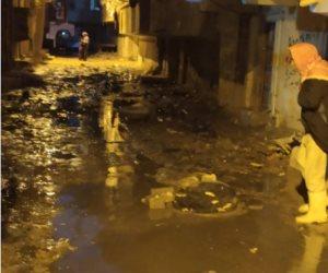 القمامة والصرف الصحي.. معاناة المواطنين اليومية بالإسكندرية (صور)