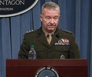قائد القيادة المركزية الأمريكية: نعمل لتحسين قدرات مصر في مجال مكافحة الإرهاب
