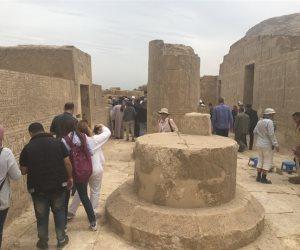 بتكلفة 13 مليون جنيه.. تفاصيل تطوير معبد «أتريبس» بالجبل الغربي في سوهاج