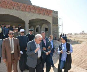محافظ جنوب سيناء يتابع إنشاء مشروعات خدمية بالطور لافتتاحها بالعيد القومي