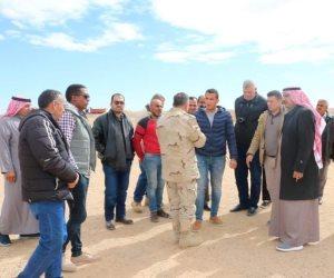 سيناء على خطى التنمية.. حصر مساحة 400 ألف فدان صالحة للزراعة بمناطق وسط سيناء (صور)
