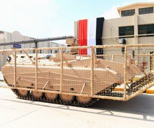 بعد ظهورها لأول مرة.. هذه مميزات ومواصفات المدرعة المصرية سينا 200