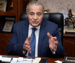وزير التموين: 275 مليون رغيف خبز يتم إنتاجها يوميا من المخابز الخاضعة لرقابة الوزارة