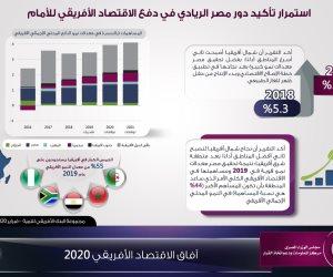 هكذا أصبحت مصر قاطرة الاقتصاد الإفريقي (إنفوجراف)