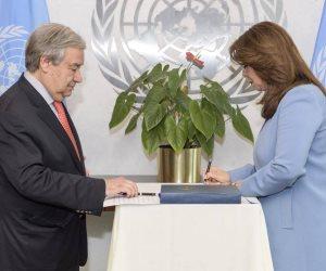 غادة والي تؤدي حلف اليمين لتولي منصب وكيل السكرتير العام للأمم المتحدة