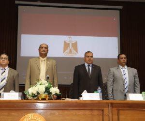 رئيس جامعة الأزهر يحذر طلاب التربية العسكرية من حروب الجيل الرابع