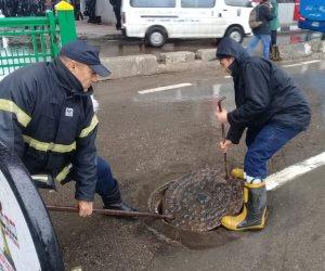 المصريون في المحافظات: وزارة الداخلية تعاملت باحترافية لمواجهة أمطار اليوم