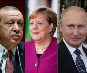 قلم ثلاثي أوروبي على وجه أردوغان بسبب سوريا