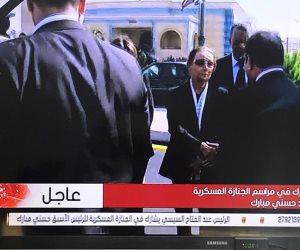 السيسي يعزي أسرة الرئيس الأسبق حسني مبارك (صور)