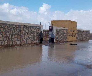مجلس مدينة نخل يرفع آثار السيول ..واستعدادات لزراعة الذرة والبطيخ( صور)