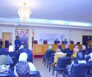 """جامعة مصر للعلوم والتكنولوجيا تنظم ندوة لتوعية المجتمع بدمج """"أصحاب القدرات الخاصة"""""""