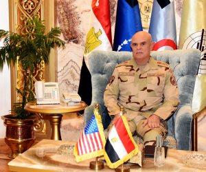 تفاصيل لقاء رئيس أركان حرب القوات المسلحة وقائد قيادة العمليات الخاصة المشتركة الأمريكية