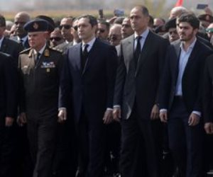 السيسي ينيب كبير الياوران في عزاء الرئيس الأسبق حسني مبارك