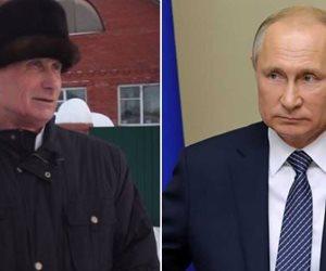 حكاية شبيه بوتين: في الحقيقة «مدرس» وفي الشارع «رئيس»
