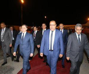 وصول وزير الداخلية إلى تونس للمشاركة في أعمال الدورة 37 لمجلس وزراء الداخلية العرب (صور)