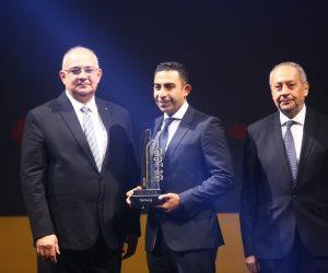احتفالية bt100 تمنح مجموعة تاليس جائزة.. ويتسلمها شريف بركات